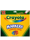 Crayola Markers set of 12 [PACK OF 4 ]