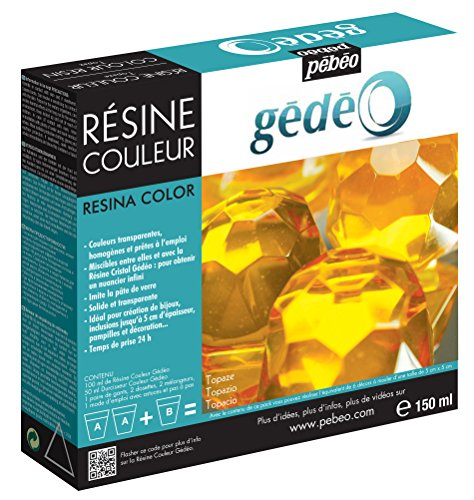 Gedeo 150 ml Color Resin, Topaz