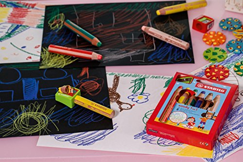 Stabilo Woody 3-in-1 Colored Pencils - Sharpener