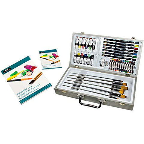 Royal & Langnickel Zen Artist Mixed Media Long Handle Paint Set