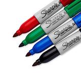 Sharpie Mini Permanent Markers, Fine Point, Assorted Colors, 4 Count