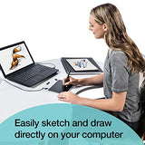 Wacom Intuos Draw CTL490DB Digital Drawing and Graphics Tablet - New Version