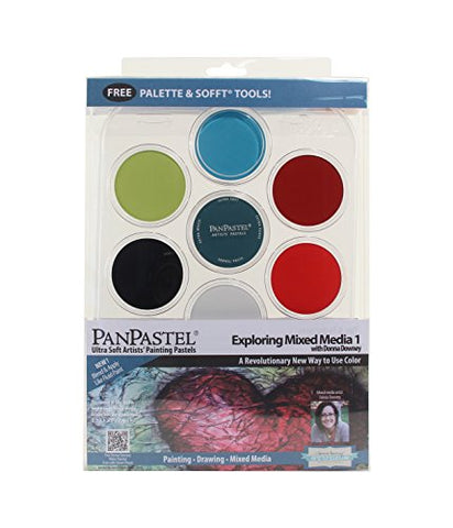 PanPastel 7 Color Mixed Media #1 Set