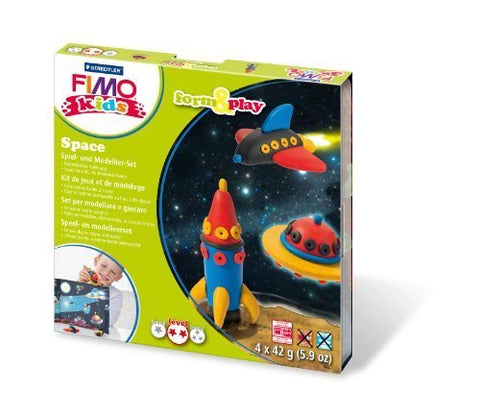 Staedtler 8034 09 LY - Fimo kids Form &amp, Play Space, Level 2 by 7101132