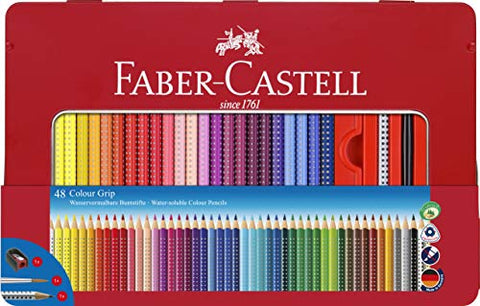 Faber-Castell 48 Colour Grip Pencil with Accessories