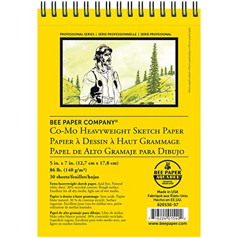 Bee Paper Co-Mo Sketch Pad, 5-Inch by 7-Inch