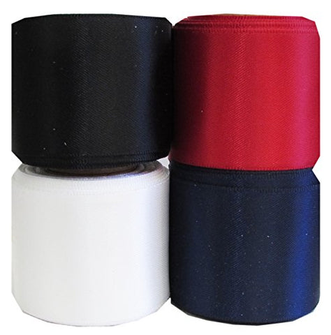 Ribbon, Hipgirl Double Face Satin Ribbon, For Gift Package Wrapping, Hair Bow Clips & Accessories