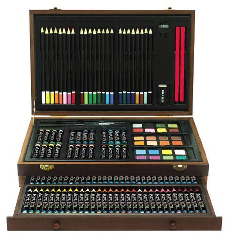 Art 101 142-Piece Wood Art Set by Art 101