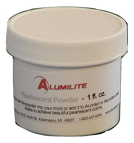 Alumilite Pearlescent Metallic Powder 1 fl oz for Crafts and More