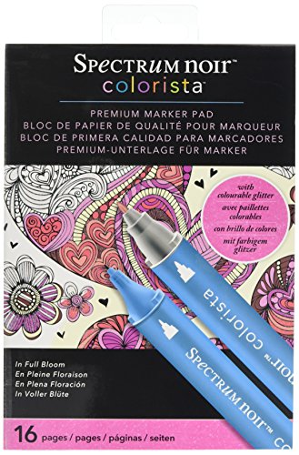 Colorista 5 x 7 Marker Pad  - In Full Bloom