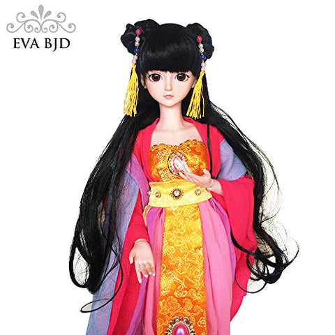 EVA BJD Tang Concubines 1/3 SD Doll Full Set 22inch Girl Ball Jointed Dolls BJD Toy Action Figure + Makeup + Accessory GIF