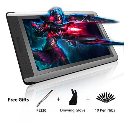 Huion Kamvas GT-156HD V2 8192 Pen Pressure Digital Graphics Drawing Tablet Monitor Pen Display with