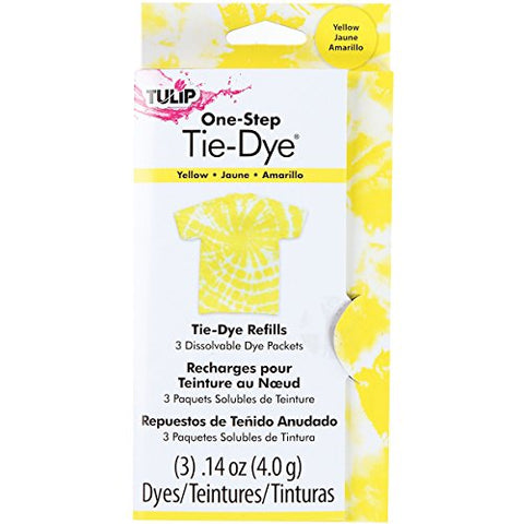 Tulip 29036 One-Step Dye Refills Yellow