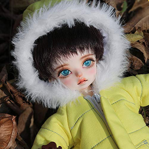 MEESock Handsome Boy BJD Doll 1/6 SD Dolls 28.5cm Resin Simulation Jointed Doll DIY Toys, with Clothes Shoes Wig Makeup, for Collections, Gifts, Children's Toy