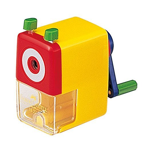 Farber Castel First pencil sharpener TFC-182807F Yellow Japan