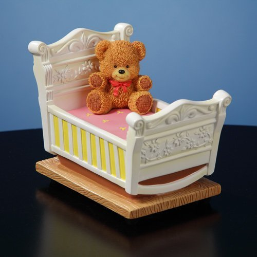 Newborn Rock-a-Bye-Baby Musical Figurine by The San Francisco Music Box Company