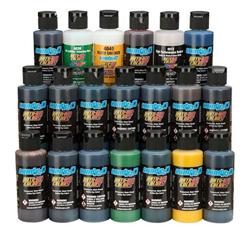 Auto-Air candy2o 2oz. Complete Set by SprayGunner