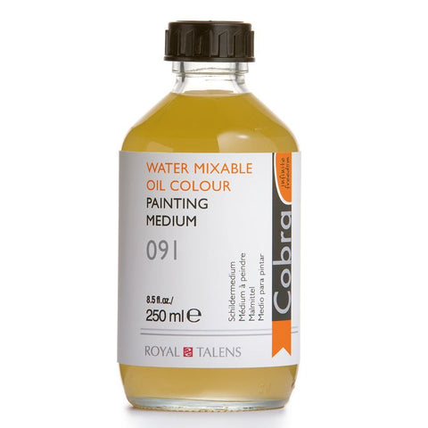Royal Talens Cobra Artists' Water Mixable Oil Painting Medium, 250ml (24301091)