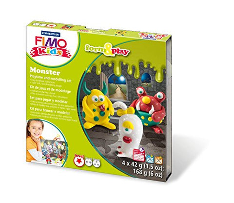 Staedtler 8034 11 LY FIMO kids form & play Play Monster