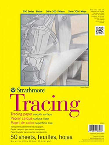 Strathmore STR-370-14 50 Sheet Tracing Pad, 14 by 17""