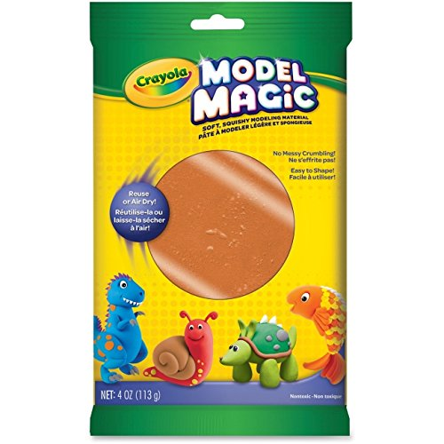 Crayola CYO574464 4 oz Model Magic Terra-Cotta Drafting44; Engineering & Art - Pack of 6