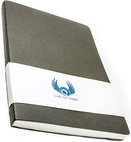 Leda Art Supply The Perfect Premium Medium Sketchbook (8.25 x 5.5) 160 Tear Resistant Pages