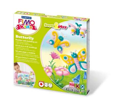 Staedtler 8034 10 LY FIMO kids form & play Play Butterfly