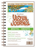 Strathmore STR-460-39 48 Sheet Bristol Smooth Visual Journal, 9 by 12""