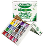 Crayola - Washable Classpack Markers, Fine Point, Eight Assorted, 200/Box 58-8211 (DMi BX