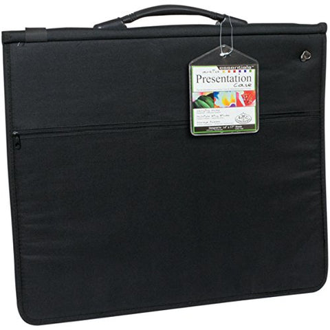 Deluxe Presentation Portfolio Case with 10 Sleeves~14x17""