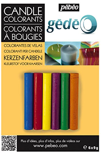 Gedeo Candle Colourants with 6 Assorted Colours