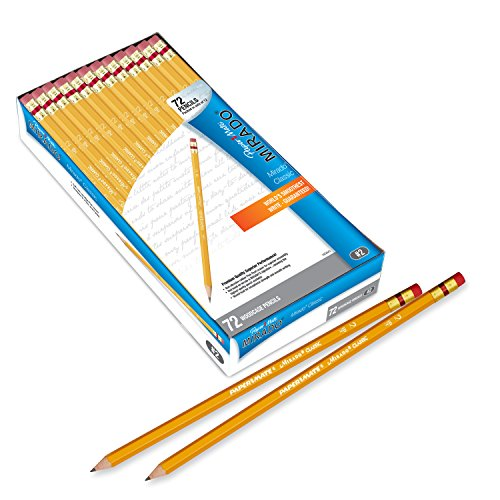 Paper Mate Mirado Classic Pencils, Wood, HB #2, 72 Count