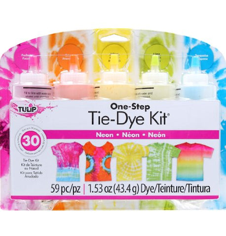 Tulip One-Step 5 Color Tie-Dye Kits Neon