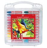 Faber-Castell Blendable Oil Pastels In Durable Storage Case- 24 Vibrant Colors - Non-Toxic
