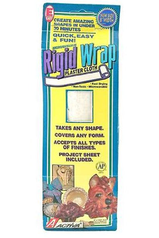 "Rigid Wrap Activa Plaster Cloth 8"" X 180"""