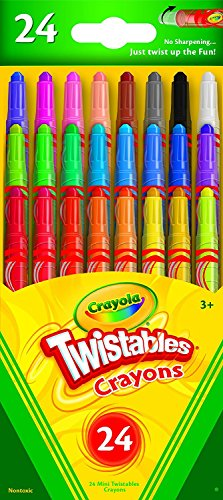 Crayola Mini Twistables Crayons, Pack of 12 ( 18 Count ),Total 216