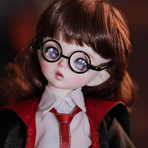 ZDD 1/6 Cute Obel Girl BJD Doll 10.63in Fashion SD Dolls Ball Jointed Doll DIY Toys, with Clothes Shoes Wig Makeup, Collector and Child Gift