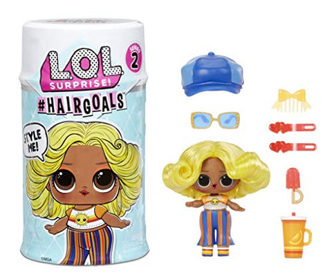 LOL Surprise #Hairgoals Series 2 Doll with Real Hair and 15 Surprises, Accessories, Surprise Dolls