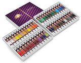 Oil Paint Set - 12ml x 48 Tubes - Artists Quality Art Paints - Oil-Based Color - Professional