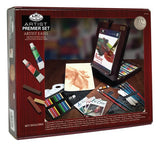 Royal & Langnickel Premier 102 Piece All Media Easel Set