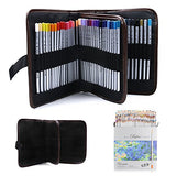 JOJOO Marco Raffine 72-color Art Colored Pencils Sketching Drawing Pencils Pencil Pouch Set for