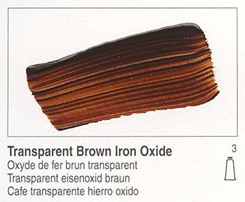 Golden Heavy Body Acrylic - Transparent Brown Iron Oxide - 5oz Tube
