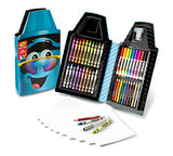 Crayola Tip Tool Kit, Turquoise, 40 Art Tools and Paper, Tip Character Case, Makes a Great Gift!