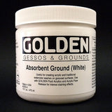 Golden Artist Colors 16 oz Absorbent Ground (White)