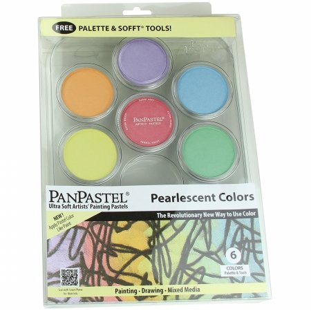 Colorfin PP30078 PanPastel Ultra Soft Artist Pastel Set 9ml 6/Pkg-Pearlescent