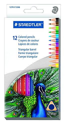 Staedtler 12CT Triangular Colored Pencils (1270 C12A603ID)