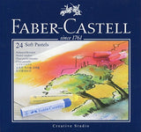 Faber-Castell 128324 Goldfaber Studio Soft Pastel Chalks Pack of 24 Assorted Colours by ToyMarket