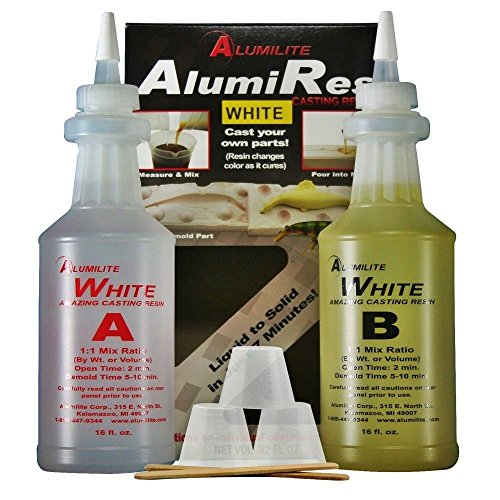 Alumilite White Casting Resin 32 OZ RM