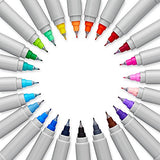Sharpie Electro Pop Permanent Markers, Ultra Fine Point, Assorted Colors, 24 Count