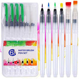 Senmink Watercolor Paint Set, 48 Watercolor Paints with 10 Watercolor Brush,6 Refillable Water Brush Pen,1 Watercolor Pad,1 Art Sponge,Water Colors Paint Set for Kids, Adults, Beginners and Artists…